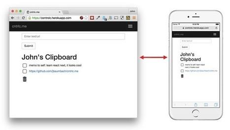 Una herramienta para copiar y pegar texto entre varios dispositivos sin instalar nada | roliver | Scoop.it