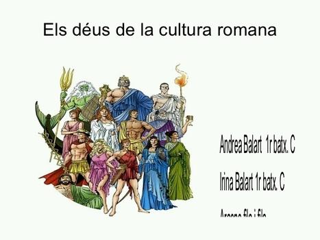 Els déus de la cultura romana: Romani dei | Net-plus-ultra | Scoop.it