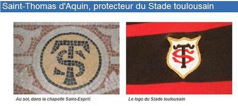 Saint-Thomas d'Aquin, protecteur du Stade toulousain | Toulouse La Ville Rose | Scoop.it