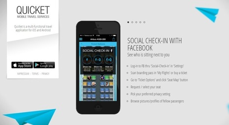 Quicket App: Stalk People That Are On Your Flight! | Mobile App Development | Scoop.it