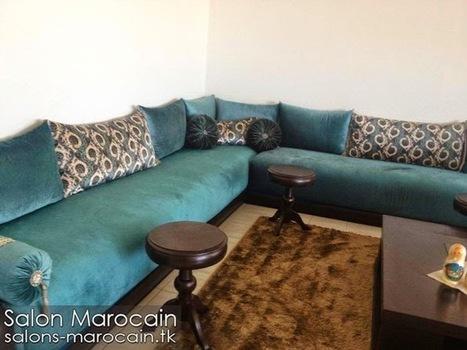 Salon marocain moderne 2014 Décoration e...