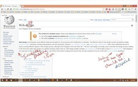 A New Tool for Turning Webpages Into Whiteboards (annotate and more) | Moodle and Web 2.0 | Scoop.it