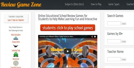 Online Educational Games and School Review for Kids | Interesting thoughts | Scoop.it