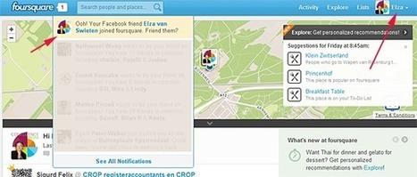 #FFF Foursquare Friend Fail   Positively Social   Scoop.it