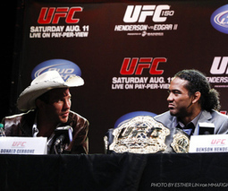 UFC 150 press conference photos gallery for 'Henderson vs Edgar 2 ... | Kissmylilstar pictures i like.... | Scoop.it