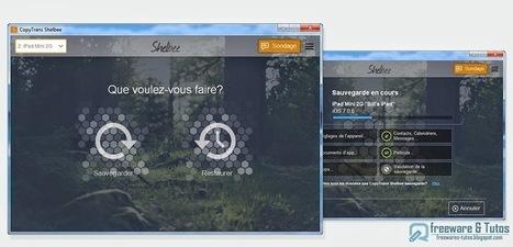 CopyTrans Shelbee : un logiciel gratuit pour sauvegarder les données de votre iPhone sur votre PC sans iTunes | Au fil du Web | Scoop.it
