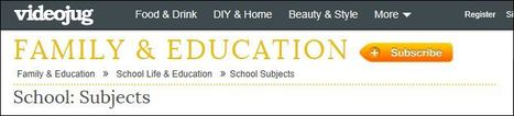 School: Subjects | Video sites for School | Scoop.it