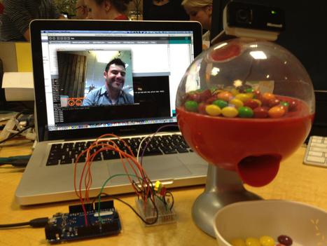 Twitter-enabled candy machine | Arduino progz | Scoop.it