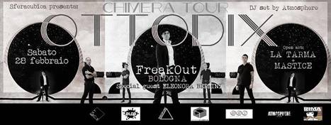 OTTODIX (feat. E. BEDDINI) + LA TARMA + MASTICE @ FREAKOUT CLUB | concerti italia | Scoop.it