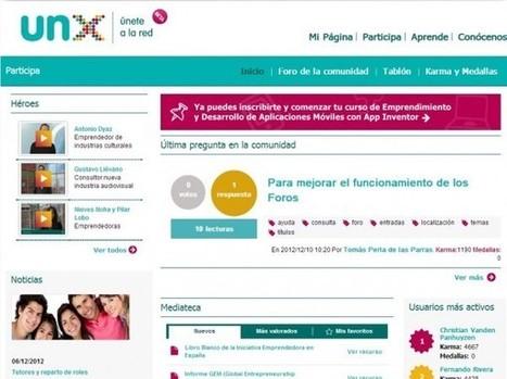 unX: Comunidad iberoamericana de emprendimiento digital | E-Learning, Formación, Aprendizaje y Gestión del Conocimiento con TIC en pequeñas dosis. | Scoop.it