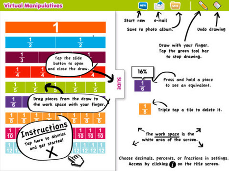 Virtual Manipulatives for iPad - App Store | UDL & ICT in education | Scoop.it
