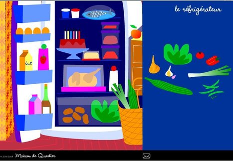 Le réfrigérateur | Remue-méninges FLE | Scoop.it