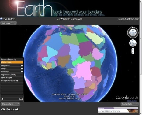 Using Google Earth in the classroom | IELTS, ESP, EAP and CALL | Scoop.it