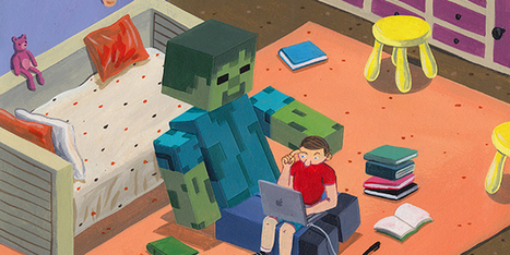 How Videogames Like Minecraft Actually Help Kids Learn to Read | 102nd Place | Scoop.it