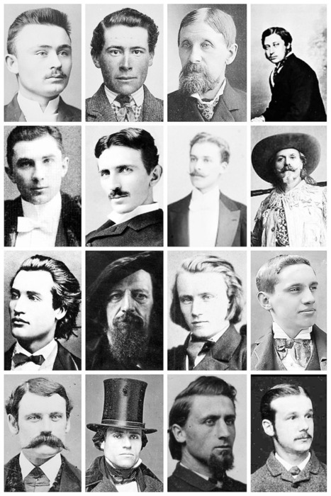 Victorian Men's Hairstyles & Facial Hair A... | THE VINTAGE THIMBLE | History Curiosity | Scoop.it