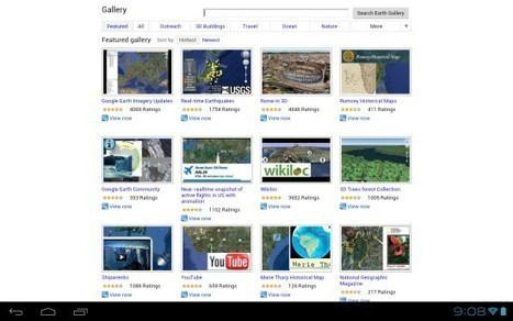 Google Earth A to Z: GPS and the Google Earth Gallery | Google Earth Blog | Google Earth Resources | Scoop.it
