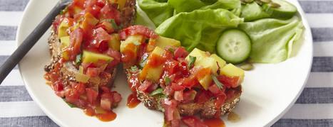 Potato Scramble with Hot Chile Sauce - Plant-Based Vegan Recipe | Vegan Food | Scoop.it