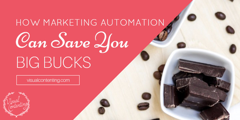How Marketing Automation Can Save You Big Bucks - Visual Contenting   Marketing Automation   Scoop.it