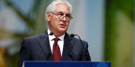 Trump Picks Exxon's Rex Tillerson for Secretary of State | Sustainability Science | Scoop.it
