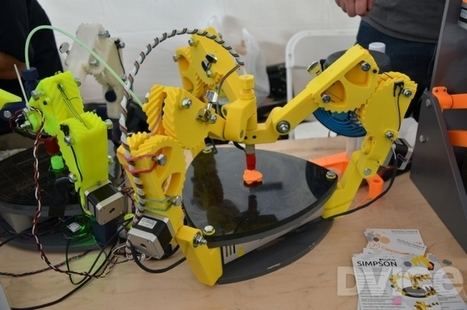 Here come the 3D-printed 3D printers | FabLabRo | Scoop.it