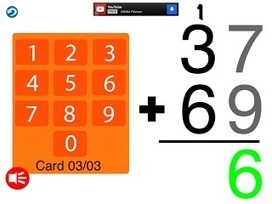 iDevice in the Mountains: Learn Addition Algorithm with Math Edge | Drifting with iPads and iPods | Scoop.it