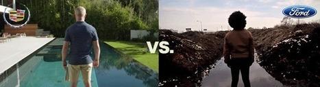 Ford parodie la pub matérialiste et décriée de son concurrent Cadillac | Tendances publicitaires et marketing | Scoop.it
