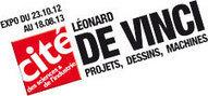 Cité des sciences et de l'industrie - Léonard de Vinci, projets , dessins, machines du 23 octobre 2012 au 18 aout 2013   Les expositions   Scoop.it