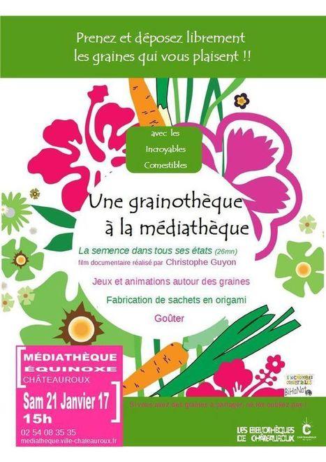 Une grainothèque à la médiathèque de Chateauroux | Veille professionnelle des Bibliothèques-Médiathèques de Metz | Scoop.it
