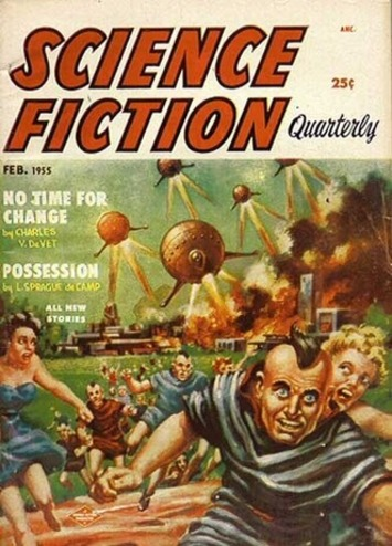 Ptak Science Books: History of Fear: Science Fiction Images--the 1950's. | Antiques & Vintage Collectibles | Scoop.it