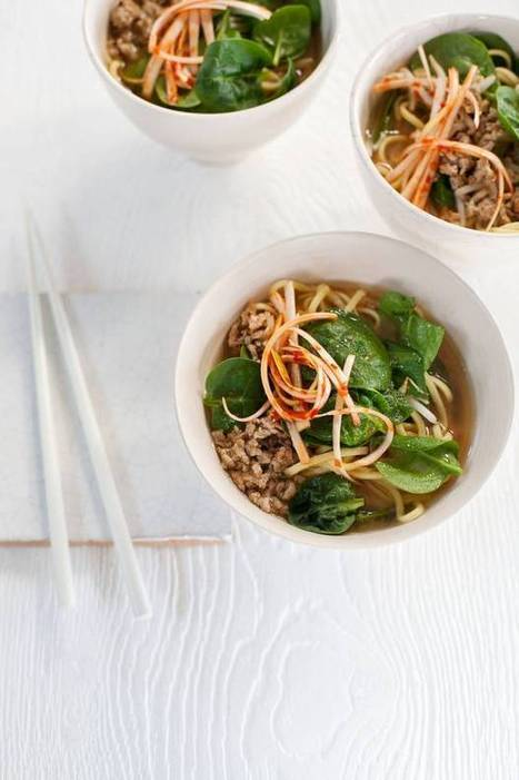 Bill Granger recipe: Miso pork ramen - The Independent | One Man and his Wok (Chinese \ Asian Cooking) | Scoop.it