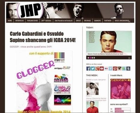 Parlano di noi: GLOGGER! - JHP eXtra! | QUEERWORLD! | Scoop.it