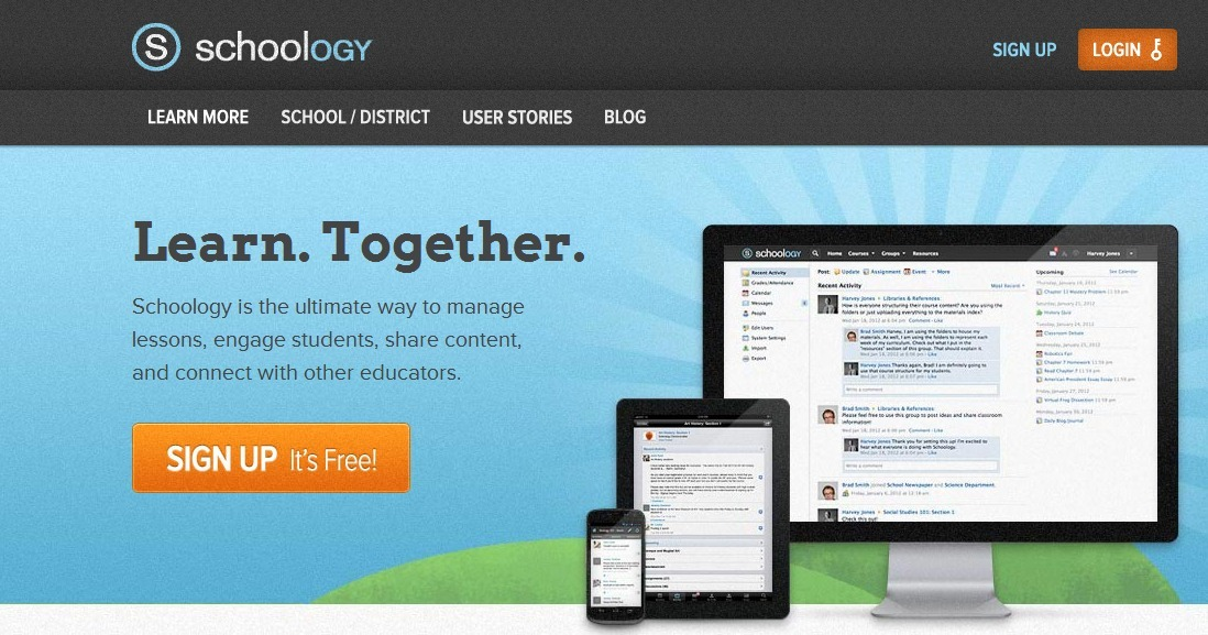 Schoology learn together effective techno schoology learn together effective techno fandeluxe Images
