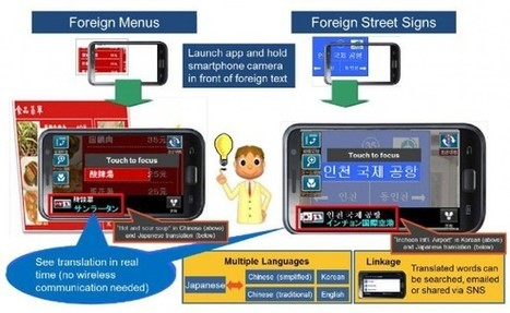 NTT Docomo takes first steps towards a universal translator - Geek | Mobile Phones and  Language Learning | Scoop.it