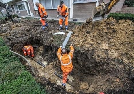 Negentig flatbewoners zonder water door gesprongen leiding - Het Belang van Limburg   Mezeik,   Scoop.it