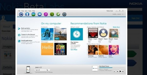 New Suite 3.2 Available at Nokia Beta Labs (Ovi Suite now Nokia Suite) : My Nokia Blog | Nokia, Symbian and WP 8 | Scoop.it