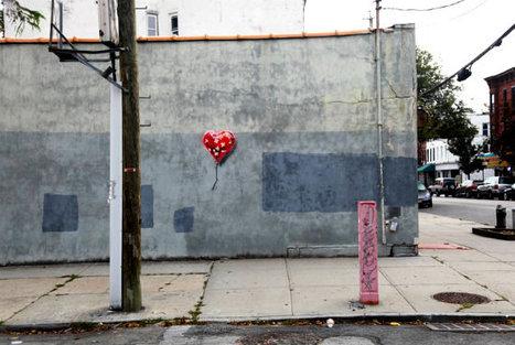 A New York, la police empêche Banksy de créer une nouvelle œuvre   Merveilles - Marvels   Scoop.it