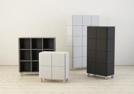 Le revêtement des meubles Sabine de Glimakra réduit le bruit | inoow design lab | Scoop.it
