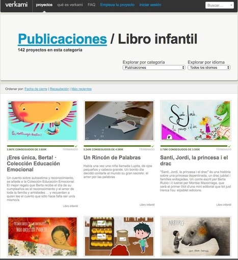 Modelos de micromecenazgo o crowdfunding editorial | Edición en digital | Scoop.it