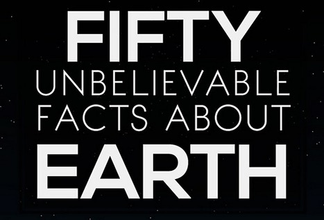 50 unbelievable facts about Earth: Awesome Infographic | Weird Science | Scoop.it