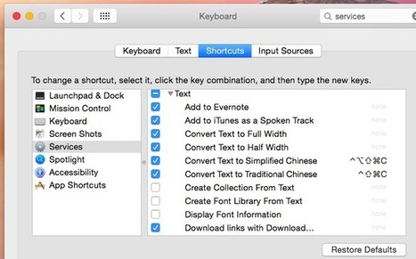 Use Your Mac's Services Menu to Perform Quick Actions | Infotention | Scoop.it