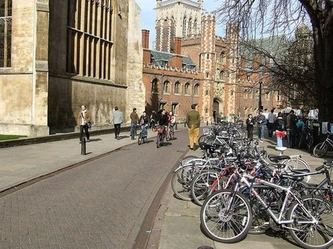 How Cambridge Became the U.K.'s Model Cycling City   Social Environments   Scoop.it