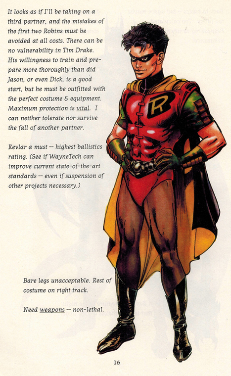 Throwback Thursday: Neal Adams Explains The Story Behind Tim Drake's Robin Costume | Comic Books Artists | Scoop.it
