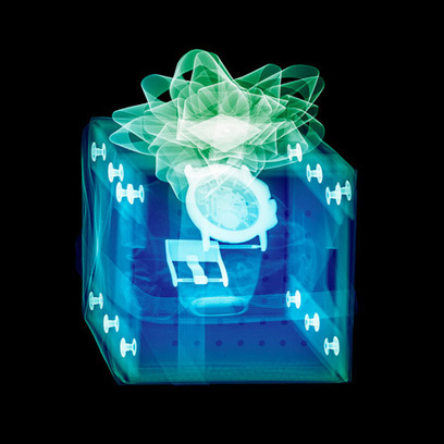 Christmas Morning Revealed: X-ray Photos of Wrapped Presents | Photography Now | Scoop.it