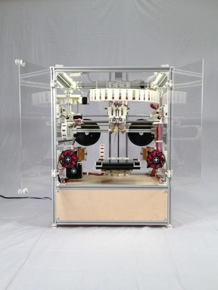 3ders.org - Introducing Kühling&Kühling RepRap industrial 3D printer   3D Printer News & 3D Printing News   Architecture, design & algorithms   Scoop.it