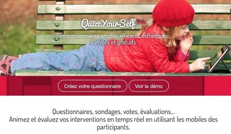 QuizzYourSelf. Donnez la parole à votre public - Les Outils Collaboratifs | Pédagogie Idées et techniques | Scoop.it