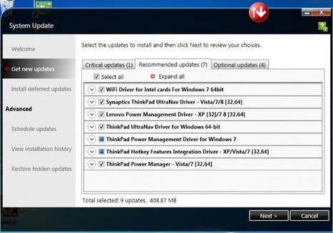 Installer Windows et les pilotes sur un Lenovo - Poséidon | Astuces | Scoop.it
