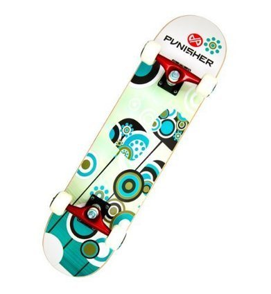 029f6011192 Punisher Skateboards Essence Complete 31-Inch Skateboard with Canadian  Maple