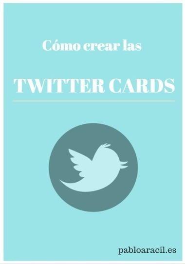 Cómo crear las Twitter Cards | Red Community  Manager. | Scoop.it