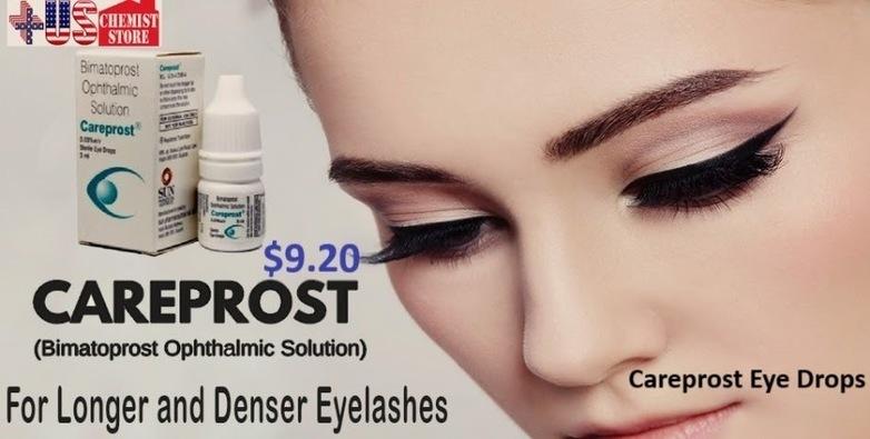 Uschemiststore Careprost Eye Drops For Amazing