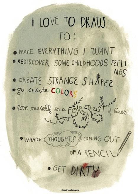 ¿Por qué nos encanta dibujar? | Noticias, Recursos y Contenidos sobre Aprendizaje | Scoop.it